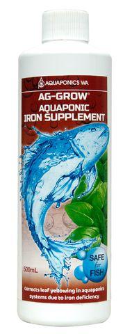 Ag-Grow Aquaponics Iron Supplement 500mL