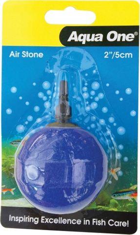 Aqua One Air Stone Blue Ball 50mm