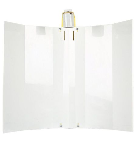 Batwing Reflector 52.5cm White