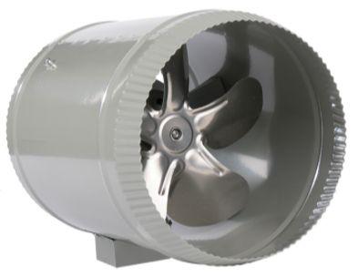 Growlush 200mm In-Line Fan EP 4 Pole
