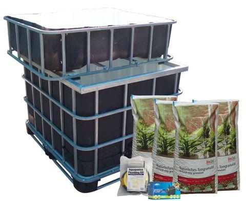 IBC 1000L Complete Kit Fish Safe