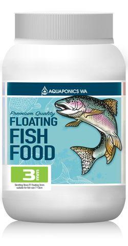 Aquaponics WA 3mm Floating Fish Food