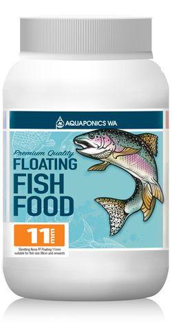 Aquaponics WA 11mm Floating Fish Food