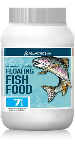 Aquaponics WA 7mm Floating Fish Food