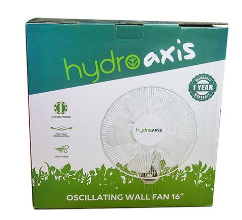 Hydro Axis 40cm Oscillating Wall Fan 50W