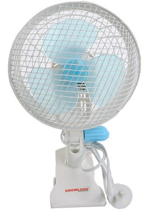 Growlush 18cm Oscillating Clip Fan 2 Speed
