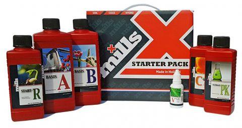 Mills Nutrients Starter Kit 250mL