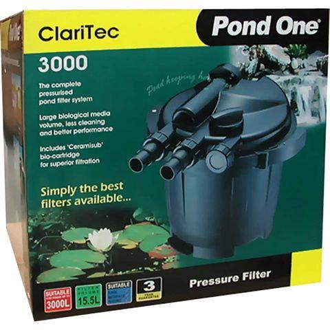 Pond One Claritec Pressure Filter 3000LpH