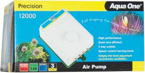 Aqua One 12000 Air Pump 4x200LpH Quad