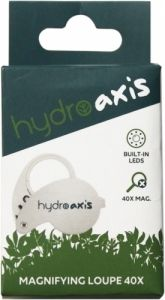 Hydro Axis Magnifying Loupe 40x LED
