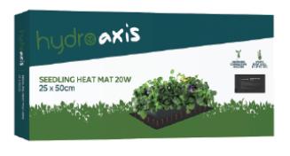 Hydro Axis Heat Mat Small 25x50cm 20W