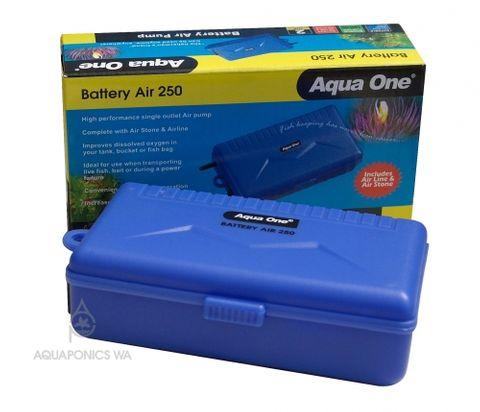 Aqua One 250 Air Pump Battery Powered