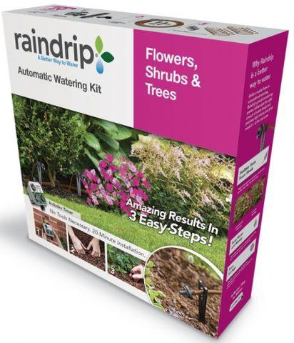 Raindrip Auto Watering Kit Flowers, Shrubs and Trees