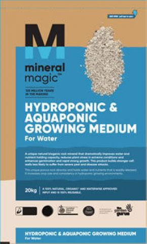 Mineral Magic Hydroponic and Aquaponic Growing Medium 5-10mm 10kg