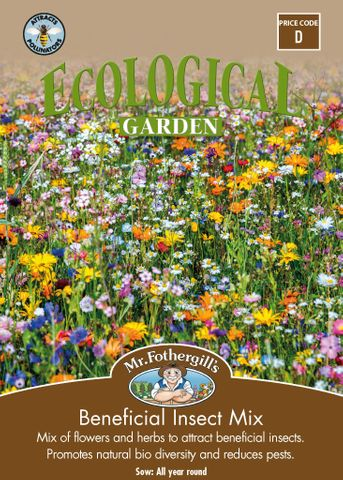 Mr. Fothergill's Beneficial Insect Mixed Seed Packet