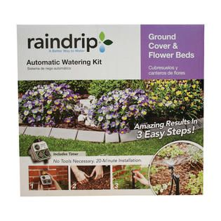 Raindrip Auto Watering Kit Ground Cover/Flower Beds