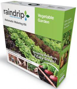 Raindrip Auto Watering Kit Vegetable Garden