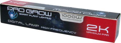 Pro Grow 1000W HPS Lamp 2000K