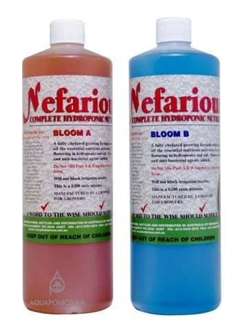 Nefarious Bloom A & B 1L Set