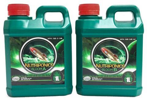 GrowHard Nutriponics Bloom A & B 1L / 5L Sets