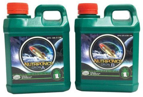 GrowHard Nutriponics Grow A & B 1L / 5L Sets