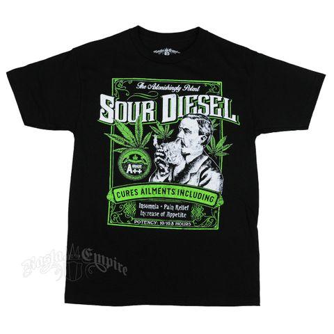 Seven Leaf Rasta Empire Sour Diesel Cures Ailment T-Shirt