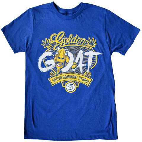 Seven Leaf Golden Goat Strain T-Shirt