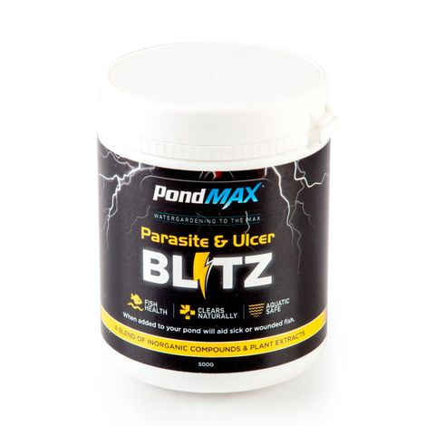 Pond Max Parasite & Ulcer Blitz Treatment 500g