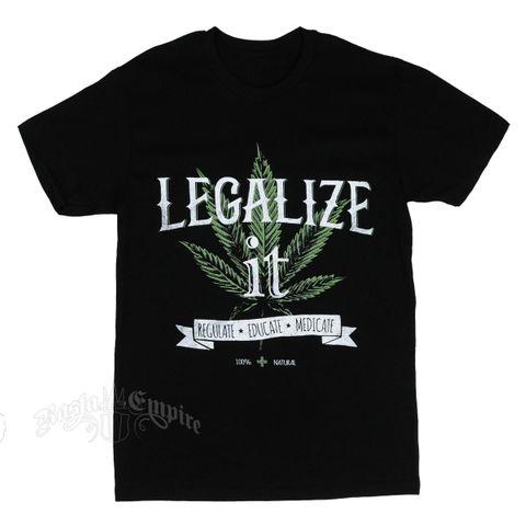 Seven Leaf Legalize It T-Shirt