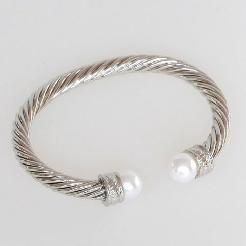 #SPEC#CABLE AND PEARL BANGLE