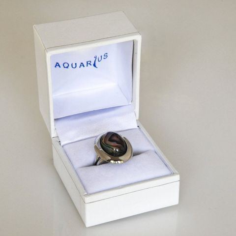 Boxed Paua Gallery Oval Ring