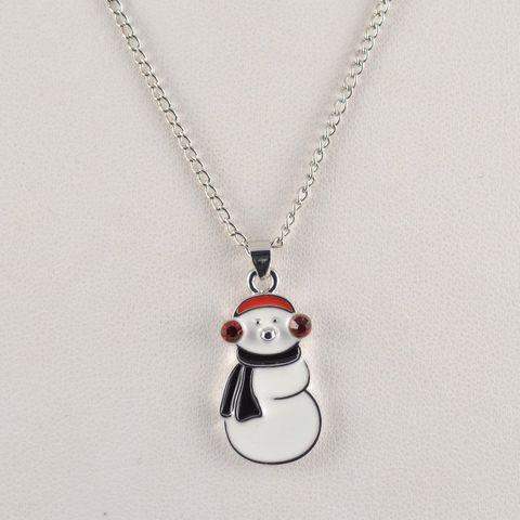 #SPEC#Snowman Pendant