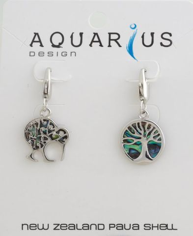Paua NATIVES Charm Duo