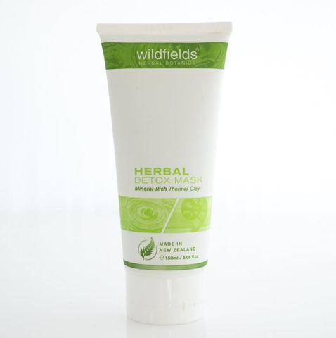Wildfields Herbal Detox Face Mask 150ml