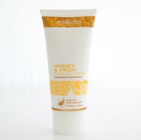 #Out of Stock#Wildfields Honey Fruit Scrub + Mask 150ml