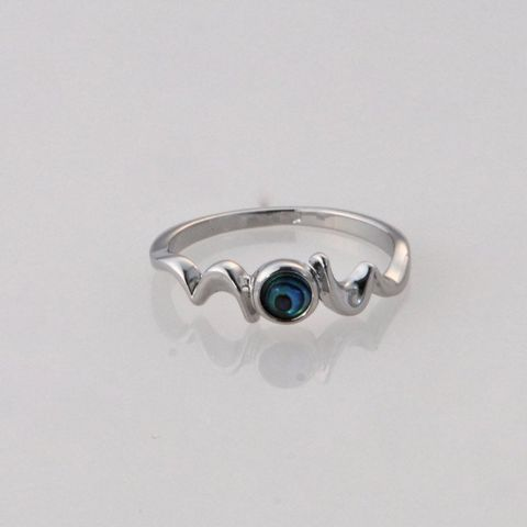 Paua Zig Zag Ring
