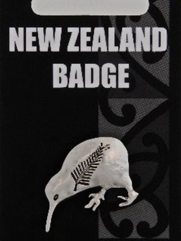Kiwi & Fern Badge