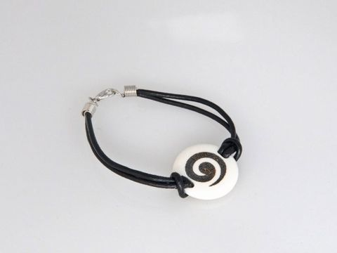 Bone Koru  Bracelet - Large