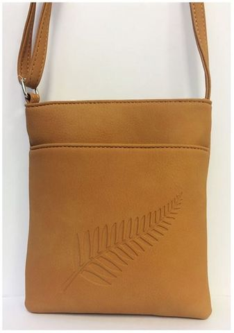#Out of Stock#Tan Fern Embossed Medium Bag