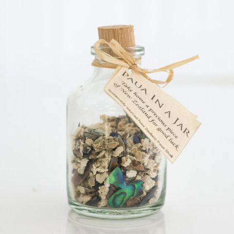 Paua Chips & Offcuts in a Bottle