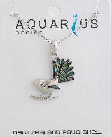 Paua Fantail Necklace