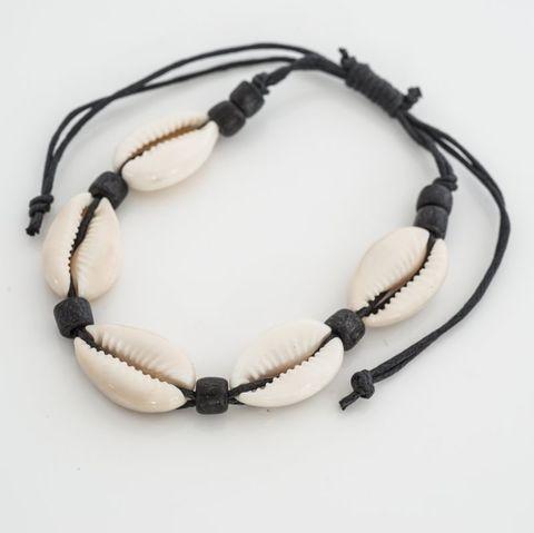 Cowrie Bracelet Natural