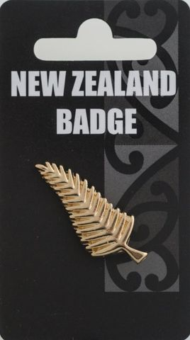 Gold Fern Badge