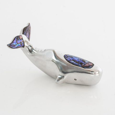 Paua Sperm Whale Ornament