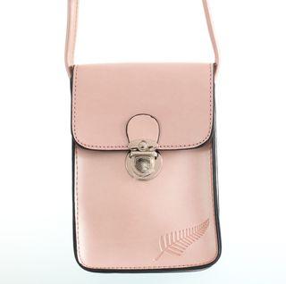 Rose Fern Embossed Upright Handybag