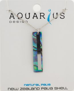 Paua Bar Necklace