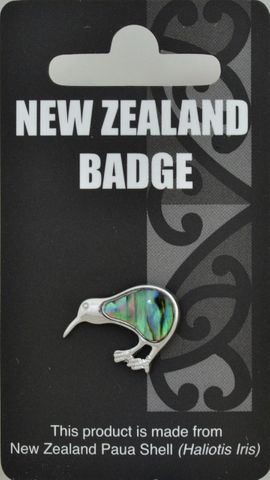 Paua Kiwi Badge Multi-pack 6
