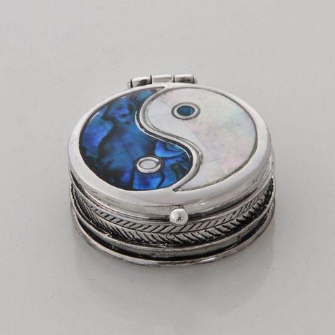 #Out of Stock#Paua Yin-Yang Pillbox