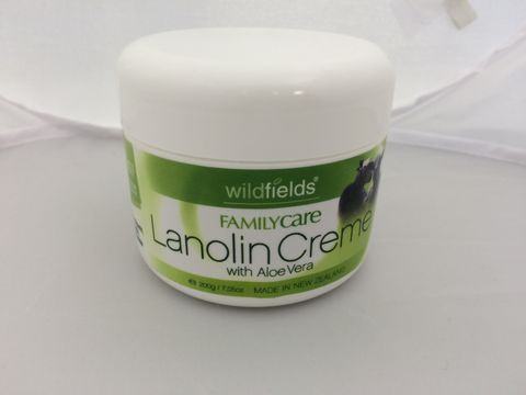 Lanolin Crème Wildfields 200g