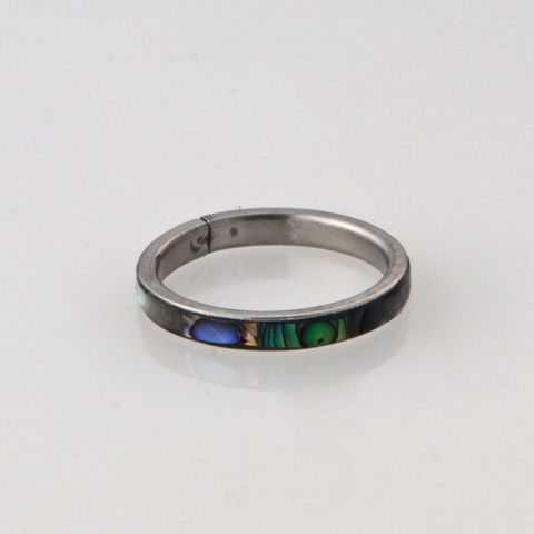 Paua 3mm Ring